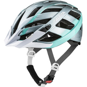 Alpina Panoma 2.0 - Casco de bicicleta - Plateado/Azul petróleo